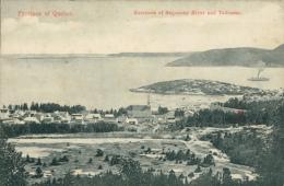 CA TADOUSAC / Entrance Of Saguenay And Tadousac / - Quebec