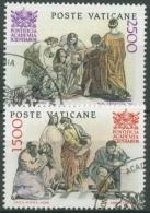 Vatikan 1986 50 Jahre Päpstliche Akademie Der Wissenschaften 897/98 Gestempelt - Vaticano (Ciudad Del)