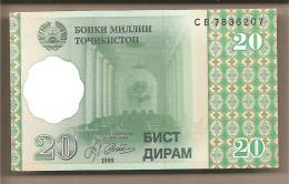 Tagikistan - Banconota Non Circolata Da 20 Diram - 1999 - Tagikistan