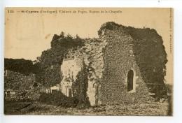 Saint Cyprien Château De Fages Ruines De La Chapelle - France
