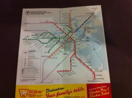 Subway Map Boston 2011 - World