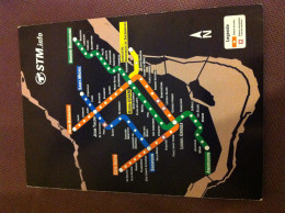 Map Subway Montreal - Europe
