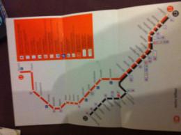 Map Subway Bilbao - Europe