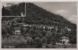 Bigorio - 1157 - Restorante Menghetti - 2 Bild-AK - TI Tessin