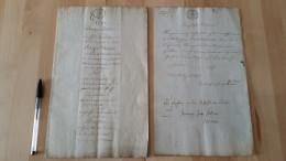 PIERRE ROGER DUCOS (1747-1816) DIRECTEUR CONSUL DE LA REPUBLIQUE COPIE INVENTAIRE APRES DECES ULM WURTEMBERG NARROSSE - Documents Historiques