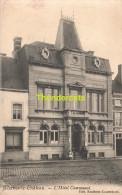 CPA  MERBES LE CHATEAU L'HOTEL COMMUNAL - Merbes-le-Château