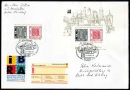 00987) BRD - R-FDC - Mi Block 46 + 2041 Mit Einlieferschein - IBRA 99, 150 Jahre Deutsche Briefmarken - [7] Federal Republic