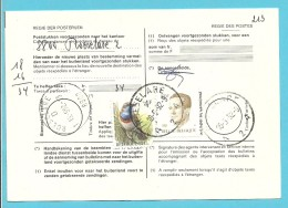2126+2321 Op Kaart (type)965 Voor TAXE DE REEXPEDITION Met Stempel ROESELARE 2 Van Postkantoor ROESELARE 1 - 1985-.. Oiseaux (Buzin)