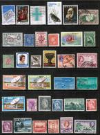 BRITISH COLONIES & TERRITORIES---LOT Of USED & UNUSED DL-175 - Stamps