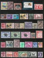 BRITISH COLONIES & TERRITORIES---LOT Of USED & UNUSED DL-178 - Timbres