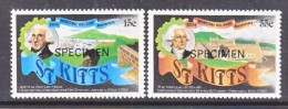 "ST. KITTS  90-91  *   ""SPECIMEN""       BRIMSTONE HILL SIEGE - St.Kitts And Nevis ( 1983-...)"