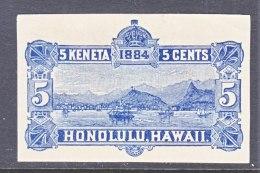 HAWAII   U 4,  CUT SQUARE - Hawaii