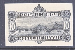 HAWAII   U 5,  CUT SQUARE - Hawaii