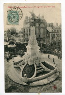 CPA  51  :  REIMS   Place D'Erlon Et Fontaine Subé   Inauguration 1906       A  VOIR  !!!!!!! - Reims