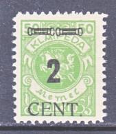 MEMEL  N 62  * - Unused Stamps