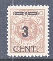 MEMEL  N 63  * - Memel (1920-1924)