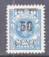 MEMEL  N 68   * - Memel (1920-1924)