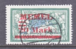 MEMEL  42  (o) - Memel (1920-1924)
