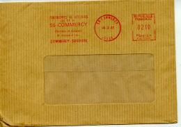 EMA Industrie,soudage A L'arc,electrode Et Appareil,sciences,Commercy Soudure,55 Commercy,Meuse,lettre 8.2.1985 - Factories & Industries