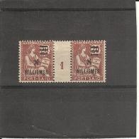 Port-Saïd _ Millésimes 20c  Mouchon Surchargé   (1921 )