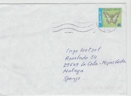 B362 / Schmetterling 2016 Auf Brief (mariposa, Butterfly) - Briefe U. Dokumente