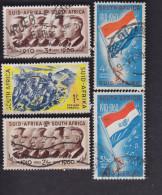 Union Sud-Africaine. Cinquantenaire De L'union Sud Africaine 229, 230, 232, 244, 245, - South Africa (...-1961)