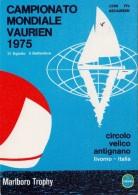 LIVORNO  WORLD CHAPIONSHIP VAURIEN 1975    (M160179-81) - Vela