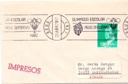 ESPANA OLYMPIC GAMES  REUS 1979   (M160190) - Giochi Olimpici