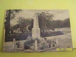SAINT-JEAN-DU-BOIS (SARTHE) LES MONUMENTS AUX MORTS. MONUMENT COMMEMORATIF DES SOLDATS DE LA GRANDE GUERRE 1914-1918 - Autres Communes