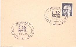 MUNCHEN  1974   FIFA  WORLD CUP  (M160192) - Giochi Olimpici