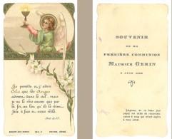 Image Religieuse / Pieuse : 1ere Communion, Ange - Images Religieuses