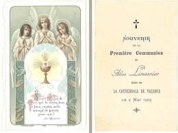 Image Religieuse / Pieuse : 1ere Communion, Cathédrale De Valence - Images Religieuses