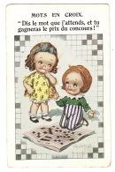 """Illustrateur DONALD Mc GILL - ENFANTS - CHILDREN - MOTS EN CROIX - MOTS CROISÉS - """"Dis Le Mot Que J'attends..."""" - Mc Gill, Donald"""