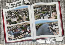 CPSM - SAINT-LOUIS (68) - Cartes Multi-Vues De 1964 - Saint Louis