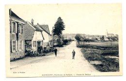 1931 - BOUROGNE - ROUTE DE BELFORT - France