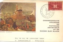 FRANCE CHAMPIONSHIP EUROPEAN   FIGURE SKATING  (M160200) - Pattinaggio Artistico