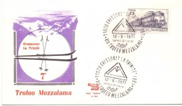 ROMA FDC TROFEO MEZZALAMA 1971  (M160205) - Journée Du Timbre