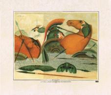 Bruno Di Pietro-ILIADE Canto XXII-Stampa Su Carta Simil Pergamena-1986- - Litografia