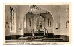 1942 - BOUROGNE - ECOLE ST FRANCOIS DE SALES - LA CHAPELLE - France