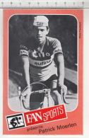 FAN Sport Présente Patrick Moerlen - Cilo Aufina ° Autocollant / Adesivi / Aufkleber / Stickers - Adesivi
