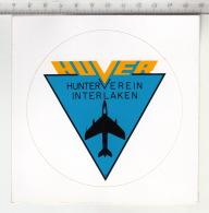 Huver - Hunterverein Interlaken ° Autocollant / Adesivi / Aufkleber / Stickers - Autocollants