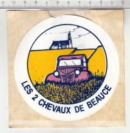 Les 2 Chevaux De Beauge ° Autocollant / Adesivi / Aufkleber / Stickers - Autocollants