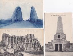 16 / 4 / 348  -  Lot  De  3  CPA  &  2  CPSM  DE  NOYIN ( 60 )  - Toutes Scanées - Cartes Postales