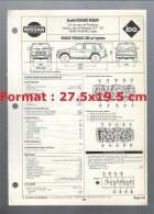 Fiche Technique Société Richard-Nissan L´expert Automobile Regla´Tech Nissan Terrano 2389 Cm3 Injection De 1991 - Cars