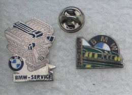 FOURNIER BMW& BMW SERVICE 2 PIN'S     YYY  019 - BMW