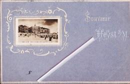 Souvenir De HEYST Sur MER - Superbe  Carte Colorée Et Gauffrée - Envoyée à Laure Bragard, Namur - Heist