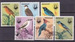 PARAGUAY - N°Y&T - Série 2159/64 - Les 6 Valeurs - Oiseaux   - Oblit - Paraguay