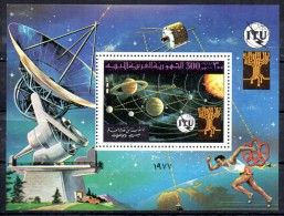 LIBYE   BF 23   * *   ITU Upu Espace Planete Course Radar Satellite - Espace