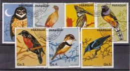 PARAGUAY - N°Y&T - Série 2049/55 - Les 7 Valeurs - Oiseaux   - Oblit - Paraguay