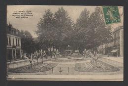 DF / 03 ALLIER / MONTLUÇON /  AVENUE DE LA GARE  / CIRCULÉE EN 1916 - Montlucon